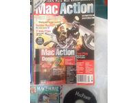Mac Action magazines Mac Format CD-ROM