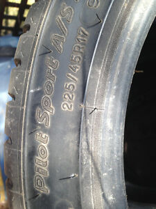 Michelin tires,225/45 r17