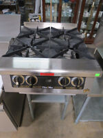 NEW STAR MAX 4 BURNER COUNTER TOP STOVE - RESTAURANT EQUIPMENT