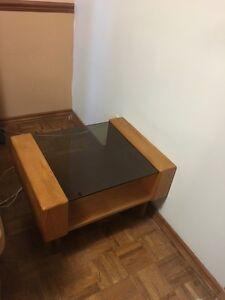 Mid century modern Teak End table
