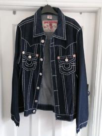 Xxl mens jeans jacket new
