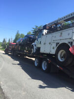 Hauling vehicles and moving you from AB to NS return