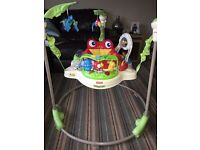 Fisher price rainforest jumperoo- Excellent condition