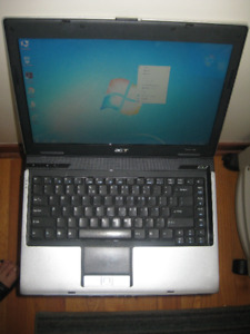 "14"" Acer With Fresh Windows 7 and Warranty"