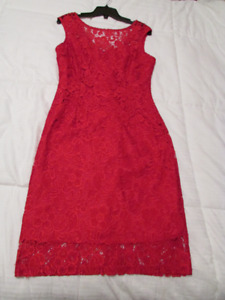 Red Dress (medium) from Le Chateau