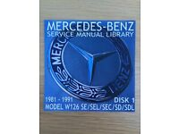 Mercedes service manual library