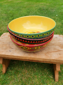 Mccain wedges collectable bowls