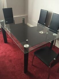As new table and chairs rrp 249.99 grab a bargain