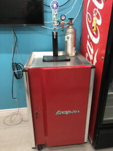 snap on kegerator