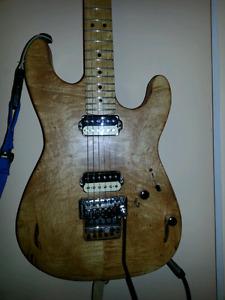 Custom guitar Warmoth