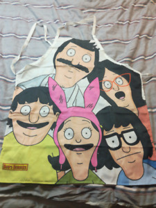 Bob's burger officially licensed apron