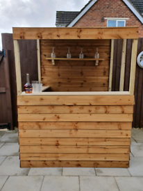 6' X 4' GARDEN BAR ASSEMBLED FREE LOCAL DELIVERY (ST HELENS)