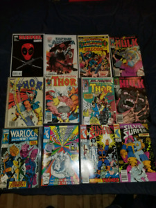 Selling Marvel, DC and Other Comics