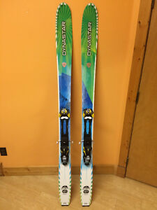 2014 Dynastar Cham 107 Skis + Touring Bindings
