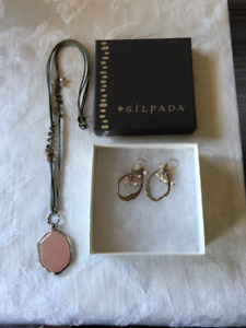 Silpada Necklace and Earrings Set