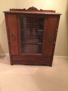 Antique Book Case with or without
