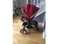 iCandy Peach Stroller in Tomato Red + Many Accessorises