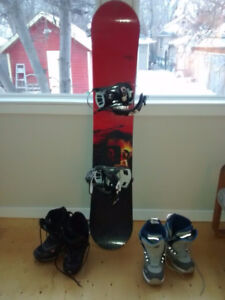 TRADE/SWAP Snowboard/Boots/Bindings for BACK COUNTRY SKIS/etc