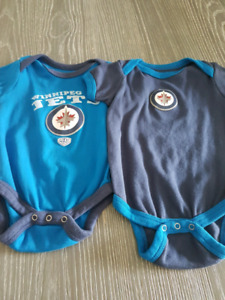 Infant Jets onsies NEW