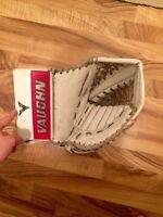 Goalie pads (Vaughn v5 7465 glove for sale)