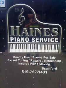 Expert piano moving and tuning