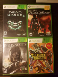 4 xbox 369 games for $15