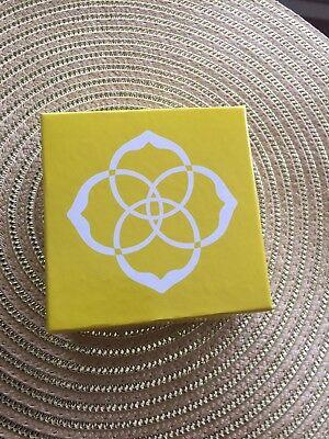 (Kendra Scott Yellow Gift Box - New Unused)