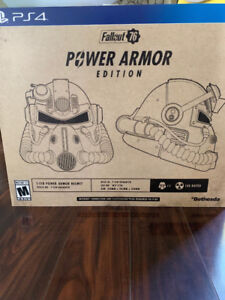 "Fallout 76 ""Power Armor Edition"" SEALED PS4 - SOLD OUT"