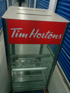 Tim Horton's Display Unit.