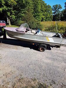 14 foot prince craft boat