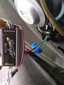 """12"""" infinity subs, amp, box, capacitor, and extras Cambridge Kitchener Area image 3"""