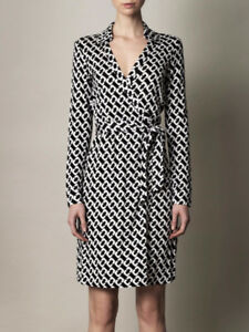 NEW!! DianeVonFurstenberg Women's Wrap Dress, Medium, 10