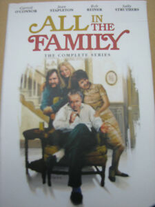 """All in the Family"" The Complete Series - 28 DVD Set"