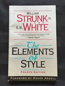 The elements of style for sale!