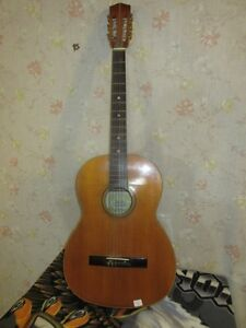 GRAMPAS ESTATE SIX STRINGED GUITAR