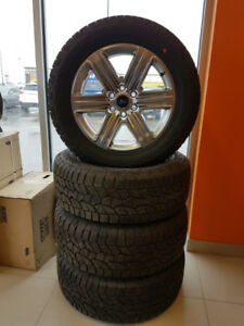 Set of four(4) 20X8.5 F150 Rims with TPMS Sensors and Tires