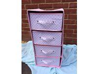 Next girls pink drawers