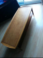 Vintage 1960s walnut coffee table- Canadian made