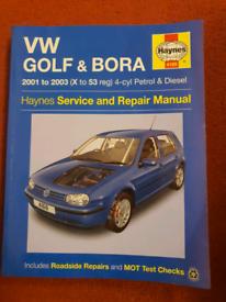 Haynes manual - VW GOLF (MK4)