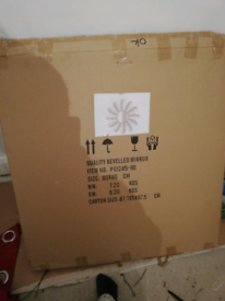 Fab bevelled mirror brand new in box