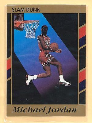 Michael Jordan 1990-91 90-91 Slam Dunk