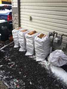 Birch Firewood Bags $35 *Real Pictures/Deliveries/Seasoned Birch Strathcona County Edmonton Area image 3