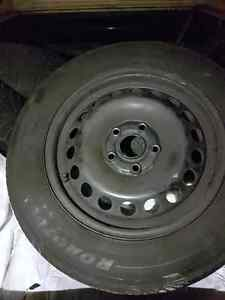 EIGHT TIRES,  FOUR RIMS, FOUR TPMS. ALL SEASON AND WINTER Kitchener / Waterloo Kitchener Area image 4