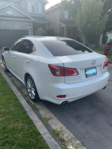 2013 Lexus IS 250 AWD- No Accidents-Pearl white