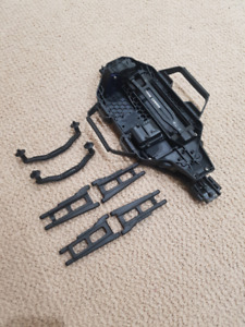 Traxxas Slash 4x4 LCG Chassis And Spare Parts For Sale