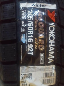 Yokohama ice guard 205/60r16
