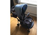 Bugaboo bee 3 ( bee3) genuine black frame Sale or swap for baby jogger zip with cash my way x