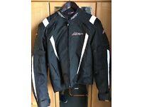 RST textile waterproof motorbike jacket Medium
