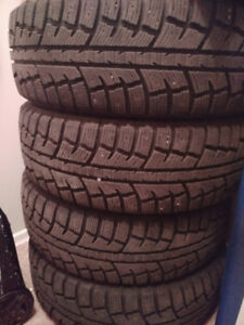 2016 Honda CRV Winter Tires  225/65 R17 (Brand: Minerva)