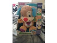 Brand new fisherprice laugh and learn puppy